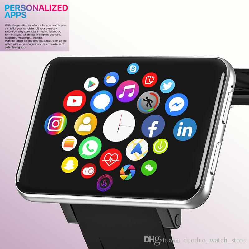 newest waterproof 2.86INCH Smart watch phone Men Women 4G Smartwatch Android 7.1 with 5MP HD Camera GPS WIFI 4G sim Smart Watch