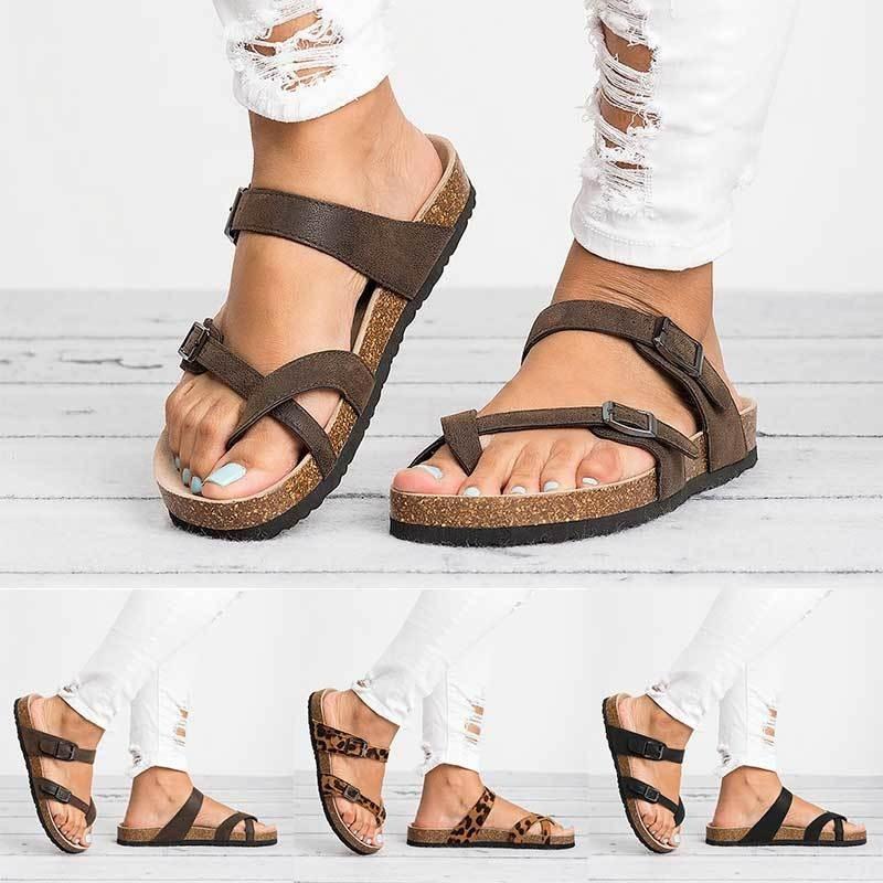 Women Designer Sandals Platform Sandals 35-44 New Arrival Best Selling Large Size Belt Buckle and Toe Puller Platform Style womens slide