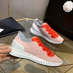 2020 chaussures de créateurs de luxe VNR tricot Casual femme en cuir véritable des hommes ridé Arena en peau de mouton à lacets Baskets Chaussures de luxe s0624