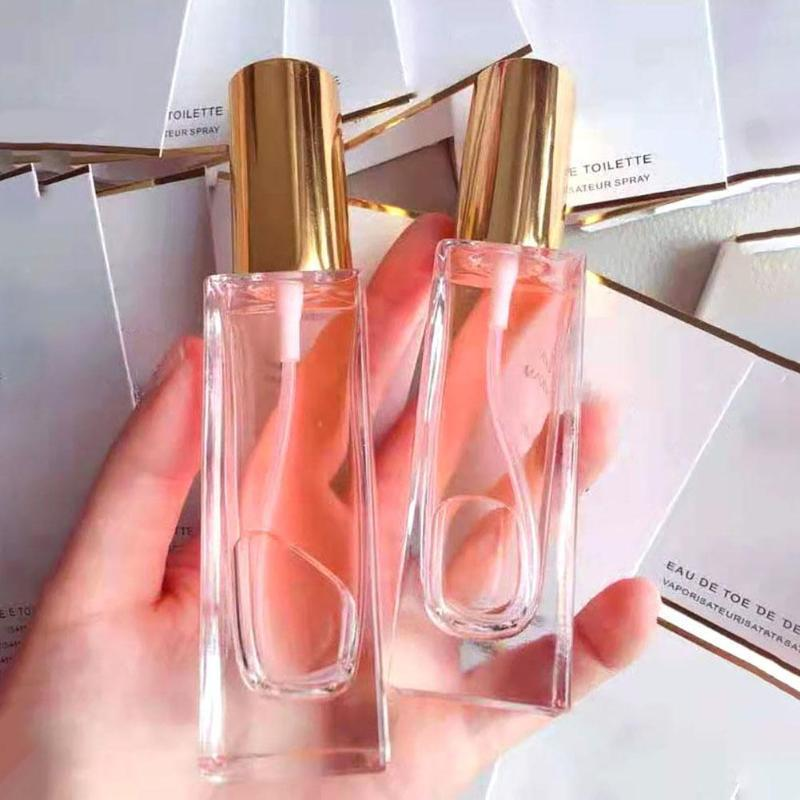1 Pcs 30 / 50ml portátil Limpar vidro reutilizáveis Perfume Atomizer vazio frasco de spray Squeeze Containers Viagem Cosmetic Container