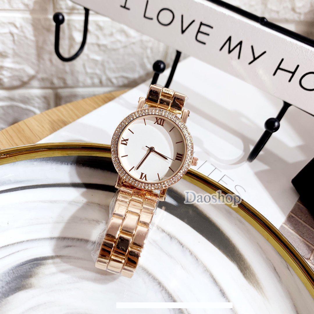 Высокое качество дизайнерские часы горячий бренд женские часы розовое золото нержавеющая сталь Леди наручные часы Кварцевые девушки подарки Майкл Relogio Masculine