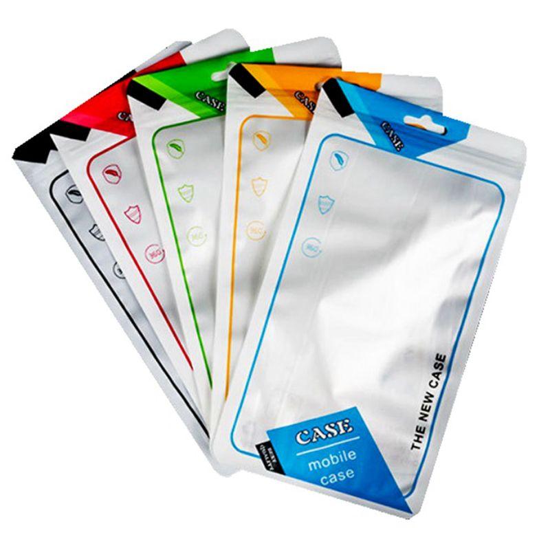 Para Iphone 11 PRO XS MAX XR X 8 7 6S mais caso pvc saco pacote de varejo para Samsung S10 S9 S8 além nota 8 9 10 telefone caso embalagem universal