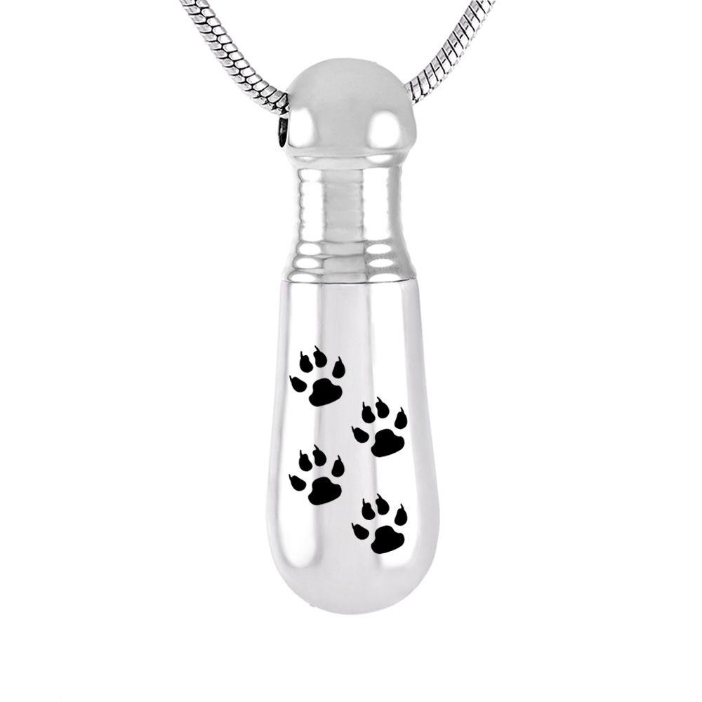 misyou Womens//Men Pet Cat Urn Necklace Baseball Bat Memorial Keepsake Pendant Ash Holder Cremation Jewelry