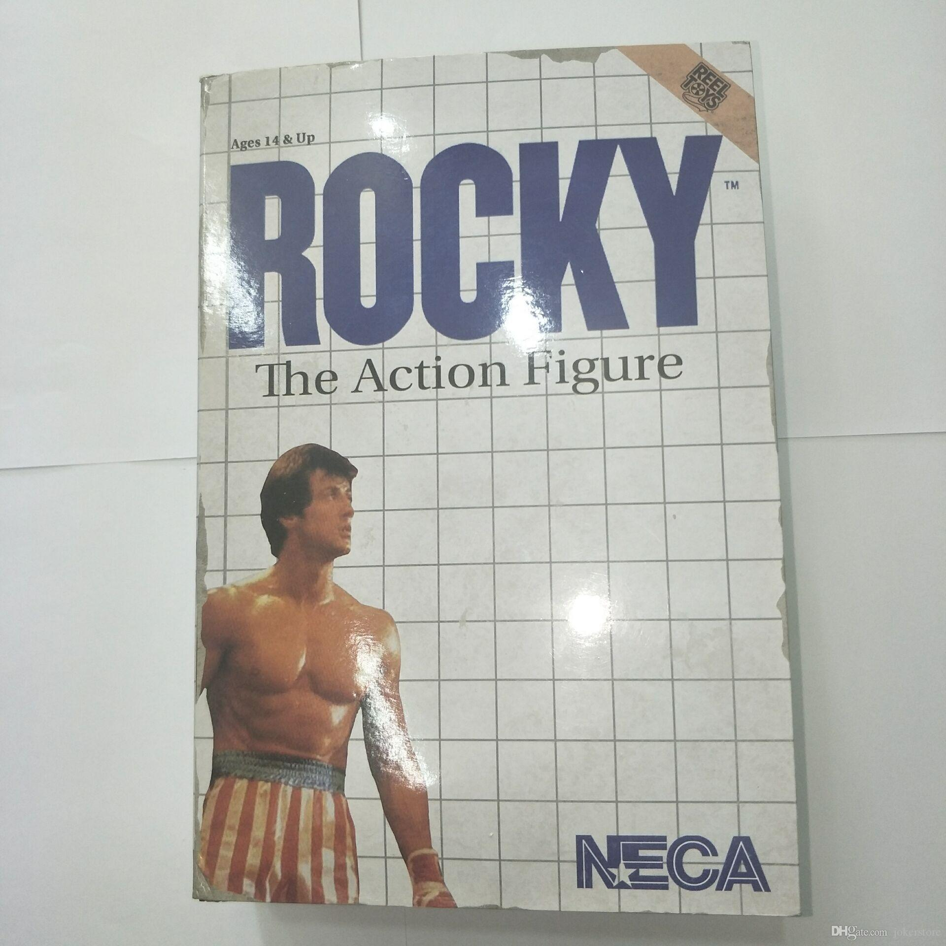 NECA Rocky Q Version Game Anime Figure Action Figure Collectible Model Hot Toys Birthdays Gifts Doll New Arrvial PVC Free Shipping