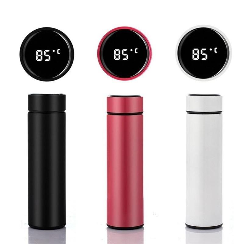 Smart LED Touch Temperature Display Vacuum Cups Thermos Bottles Insulated Flask