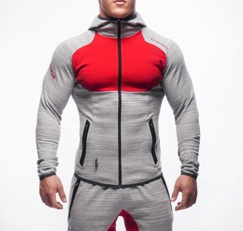 بذلات هوديس تجريب قمصان مقنع الرياضة رياضية للرجال Chandal هومبر الغوريلا ارتداء الحيوان رجل كمال الاجسام رياضة