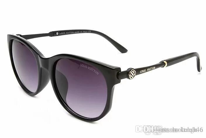 Yüksek L kalite erkekler için objektif moda güneş gözlüğü polarize ve kadınlar spor güneş gözlüğü V3019 Retro