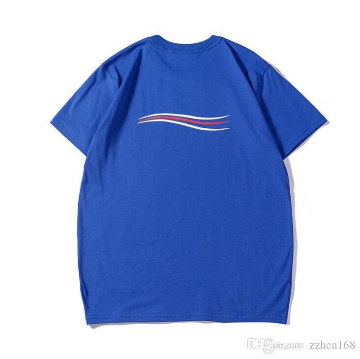 20SS Mens Designer T-shirt Hip Hop Hommes de haute qualité T-shirt Homme Femme T-shirt d'été à manches courtes T-shirts Taille S-3XL