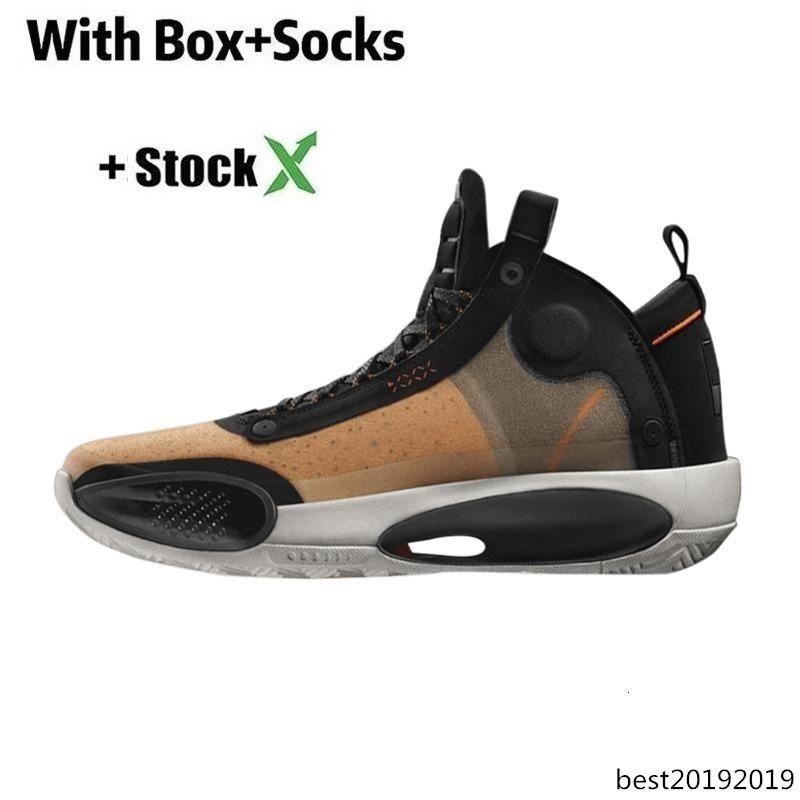marchio di pallacanestro scarpe 34s per mens Jumpman XXXIV 34 Eclipse Blu uomini Void Chicago di alta qualità trainer sport atletici delle scarpe da tennis dimensioni 7-12