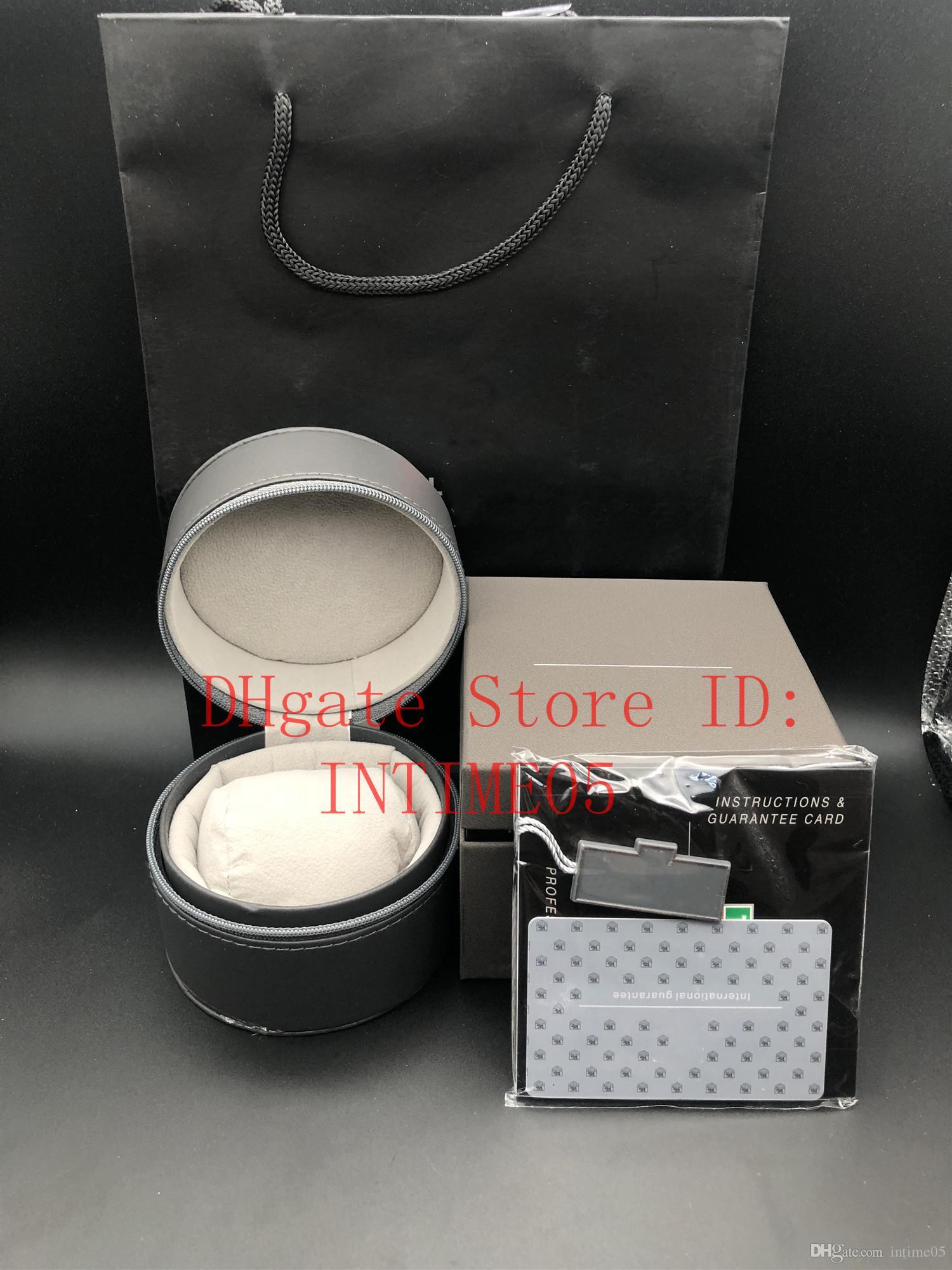 Cajas de cajas El mejor al por mayor Top Relojes Mira Reloj de calidad Cajas de regalo Casual Moda Caja de cuero Etiqueta de joyería Reloj Hnscq
