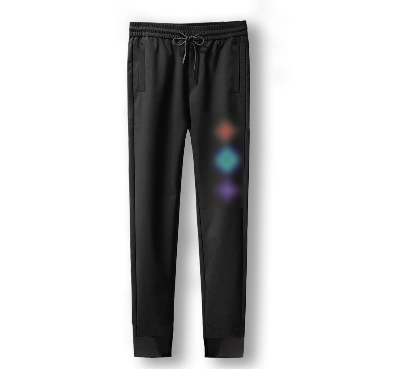 Tuta jogger Harajuku pantaloni della tuta di Hip Hop dei pantaloni pantaloni della tuta di stile casuale Ho Via camuffamento pantaloni elastici dimensione di vita: M-4XL K002