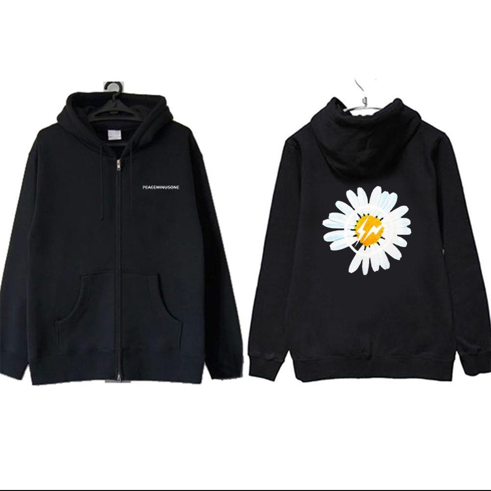 BIGBANG Kpop ressort hommes mode Plusvelvet manteau à capuchon femmes étudiant automne GD Sweat Harajuku hoodies veste d'hiver