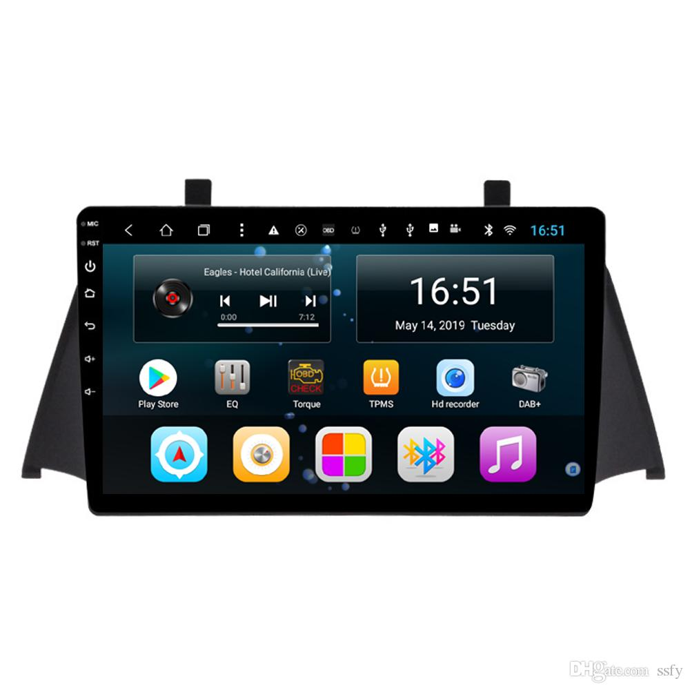 Android car player with multimedia player multi-touch screen microphone bluetooth lossless music fast delivery for Zotye X5 9inch