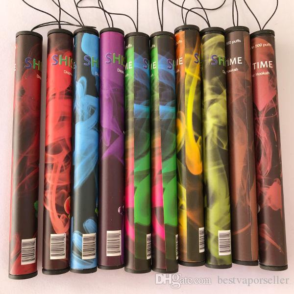 Wholesale Shisha Vape Device Kit with full-filled Cartridge 500 Puffs Vape Pen Eshisha pen vs puff bar hot