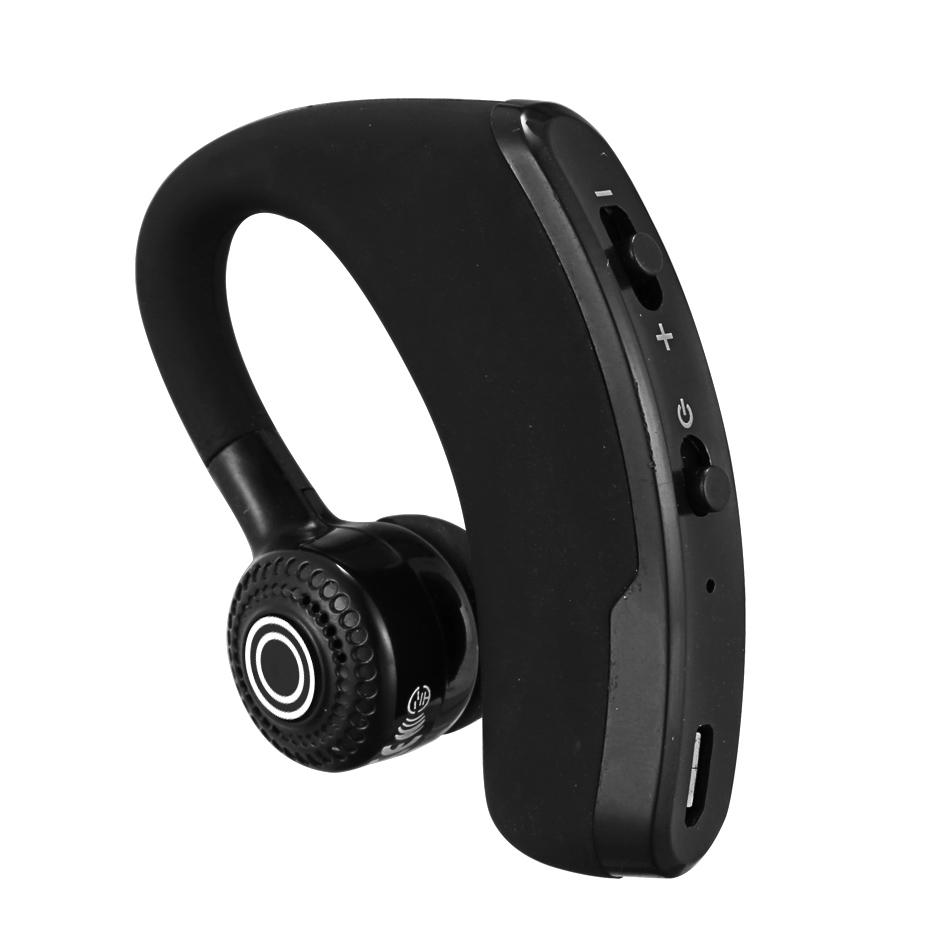 V9 Wireless Bluetooth Headphones Business Drive Earphone Earbuds Headset With Mic Stereo CSR 4.1 Noise Cancelling Voice Control with package