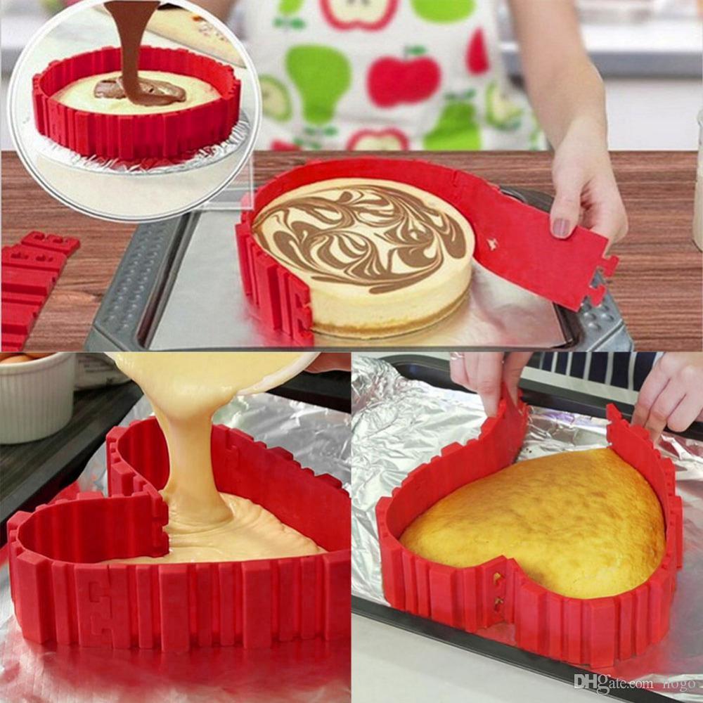 4 pezzi stampo per dolci in silicone 3D stampi per dolci da forno stampi per dolci stile fai-da-te creativi al forno creatori torta quadrata strumenti di decorazione