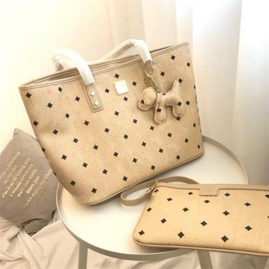 2pc Rosa Sugao Lettera borsa delle donne della ragazza di alta qualità Borse Shoulder Bags 3color Avaliable marca calda Borsa famosa borsa della frizione