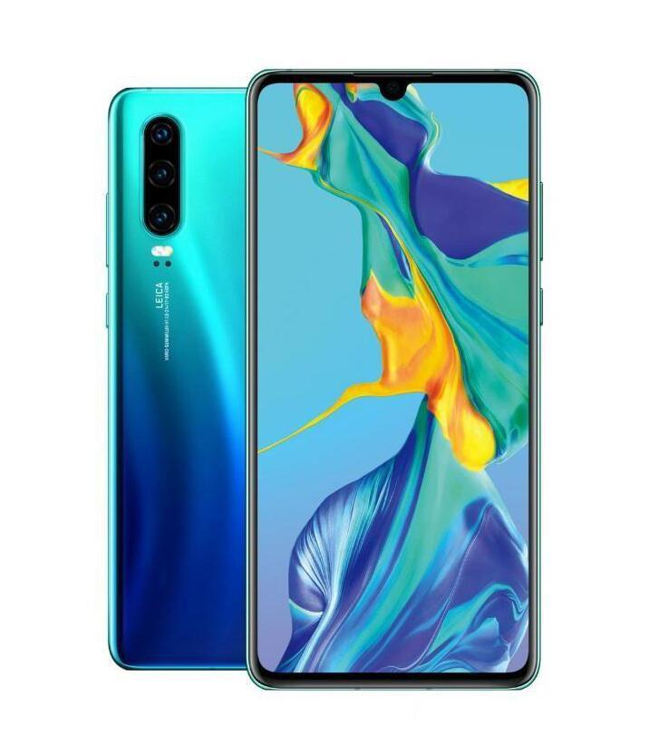6.5Inch Goophone P30 Pro Cell Phone Show 8GB RAM+128GB ROM Show 4G lte Dual SIM Cards GPS GSM WCDMA Android Smartphone