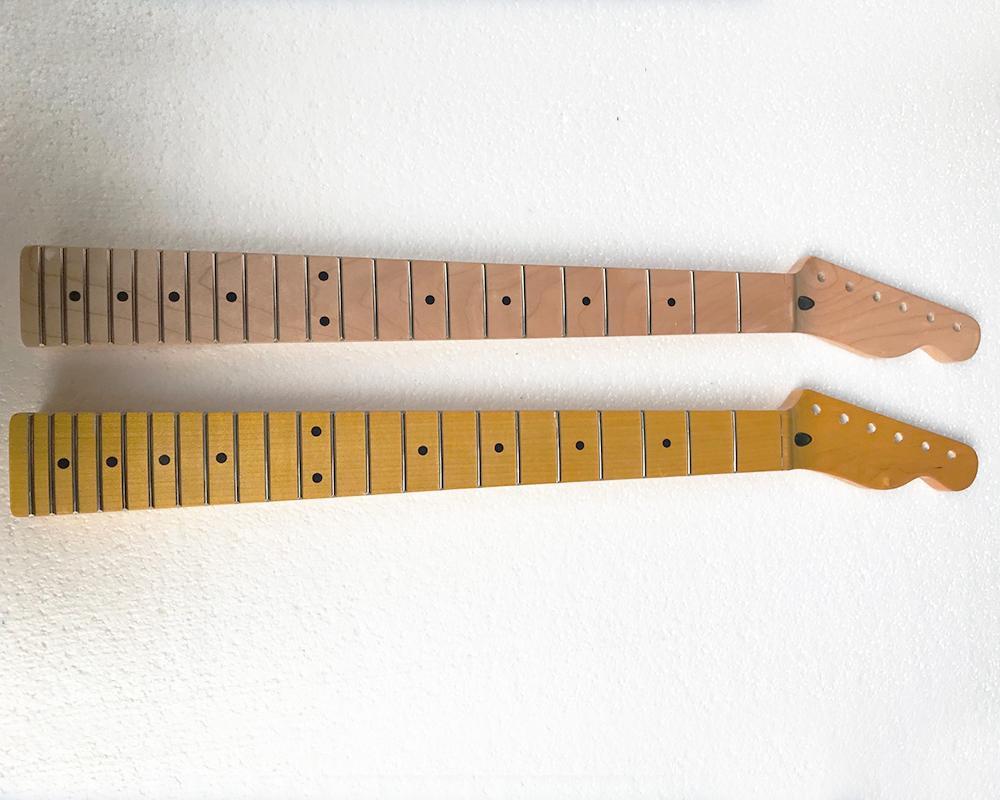 بيع مصنع خاص 6 سلاسل الغيتار الكهربائي الرقبة ، عظم الجوز (يحتاج الجوز النحاس اضافية 5 دولارات) ، 22 الحنق ، تقديم خدمات مخصصة