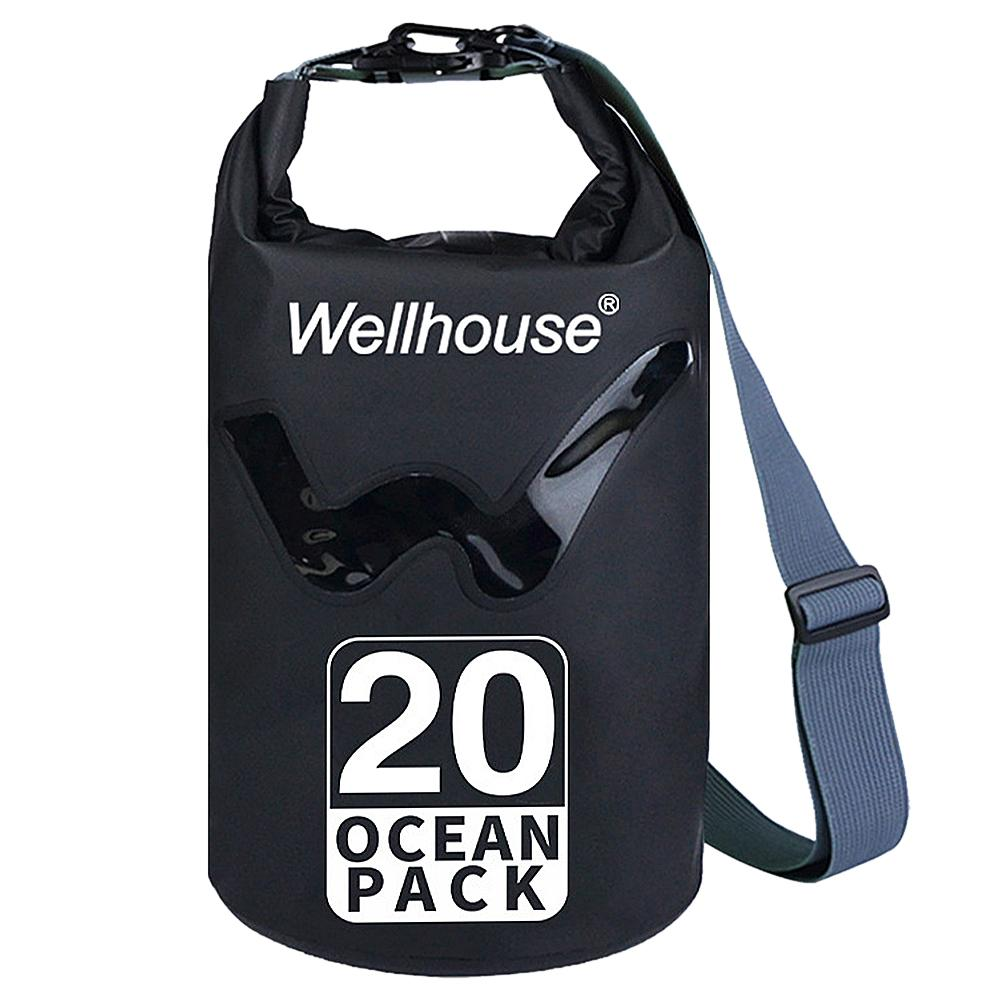 Outdoor ombro Waterproof Bag Dry Sack para drifting Boating Floating Caiaque Praia