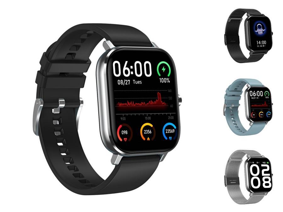 GW16 DT-35 reloj elegante Temperatura Oxígeno Presión arterial monitor de ritmo cardiaco IP68 Deportes Modos de visualización El tiempo Bluetooth DT-35 reloj elegante #Q