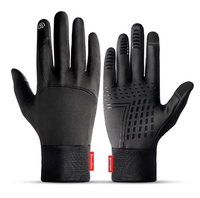 Зима Спорт на открытом воздухе Запуск перчатки Теплый сенсорный экран Gym Фитнес Full Finger перчатки для мужчин Женщины Трикотажные Магические перчатки