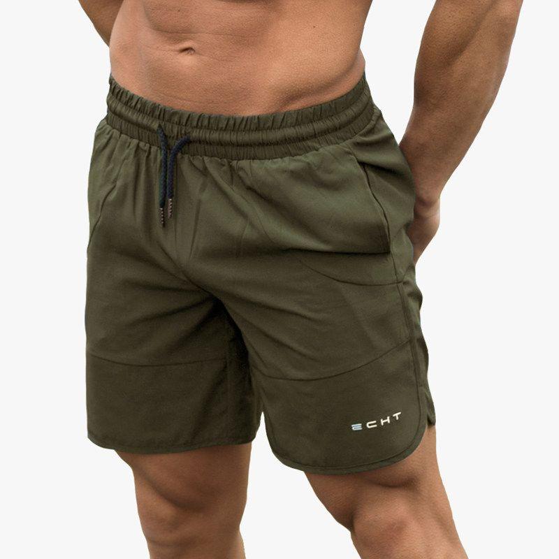 Été Courir Shorts Hommes Sport Jogging Fitness Shorts Sport Slip Échouer Maillots de bain pour hommes Gym Crossfit Pantalons courts