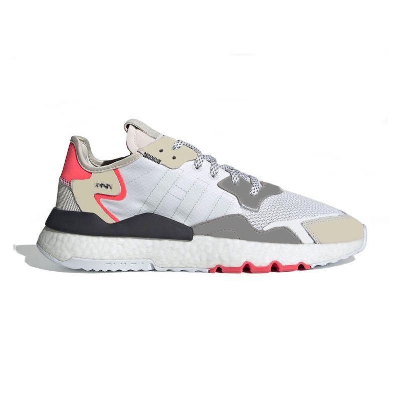 Compre Adidas Nite Jogger Boos Nite Jogger 3m Reflectantes Hombres Mujeres  Zapatos Para Correr Triple Negro Blanco Naranja Verde Transpirable Para ...