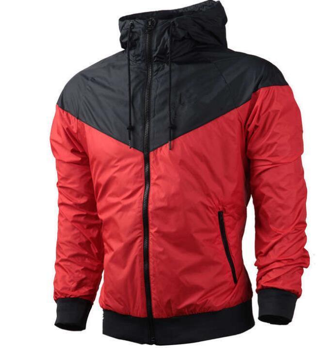 Donne giacca cappotto Sport primavera sottile Uomo Felpa con cappuccio manica lunga Sport Zipper Windbreaker abiti asiatico Dimensione Hoodi Outerwear Top