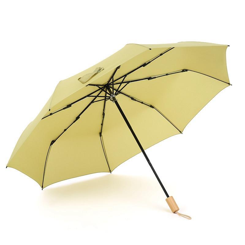 Paraguas de la lluvia de las mujeres de los hombres 3 ligera plegable impermeable automática completa y durable fuerte Súper Paraguas Rainy niños Sunny