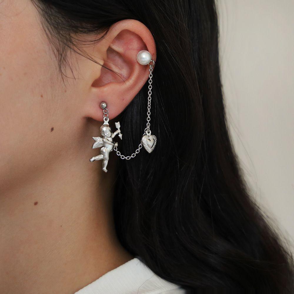2020 Women Earrings Simple Lovers Jewelry Cupid Bow And Arrow