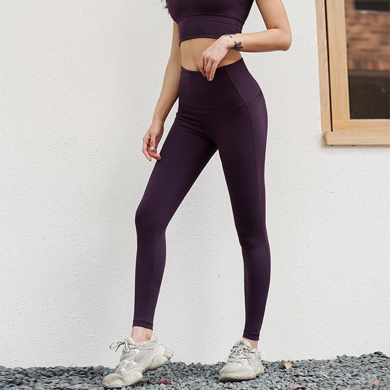 curva Mermaid leggings Mulheres Yoga Gym Side Drop-in Pockets suor-wicking justas calças Yoga baixa fricção Correndo Academia Leggings