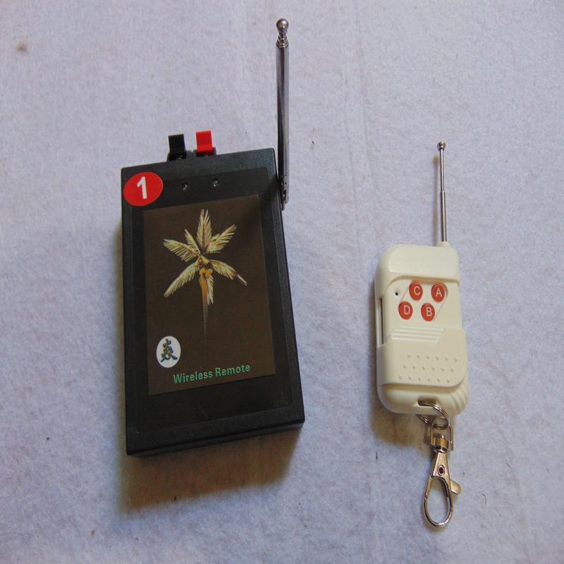 1 Cues Feuerwerk Zündung-System Festliche Party Supplies CE FCC Bestanden 2019 NEU Feuerwerk Salvo Feuer wasserdichte Box schaltet WLAN