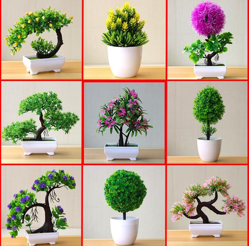 2021 Artificial Plants Bonsai Small Tree Pot Plants Fake Flowers Potted Ornaments For Home Decoration Hotel Garden Decor From Raymonu 23 52 Dhgate Com