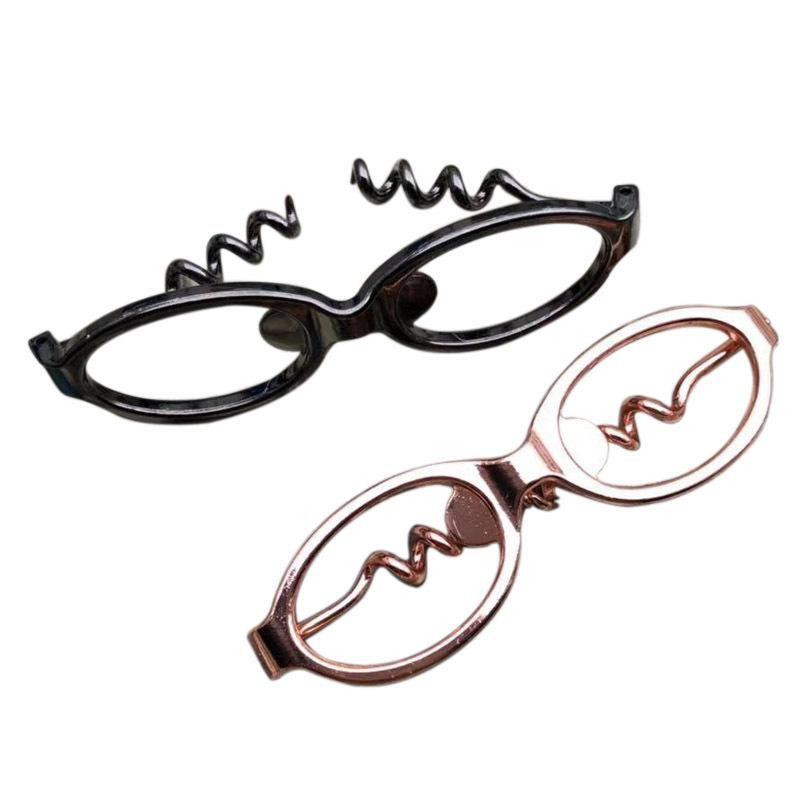 Eye Glasses Bottle Opener 2 in 1 Fashion Wine Beer Bottle Opener Sunglasses Shape Bar Tools Party Favor Promotion Gifts