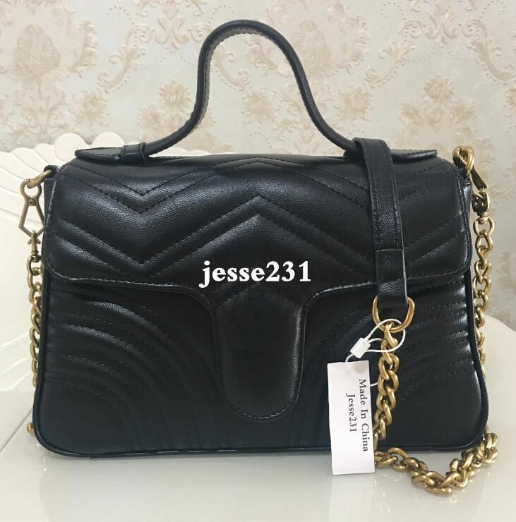 Hot Sale Top Quality Fashion Women Bags Handbags Wallets Leather Chain Bag Crossbody Shoulder Bags Messenger Tote Bag Purse 5colors