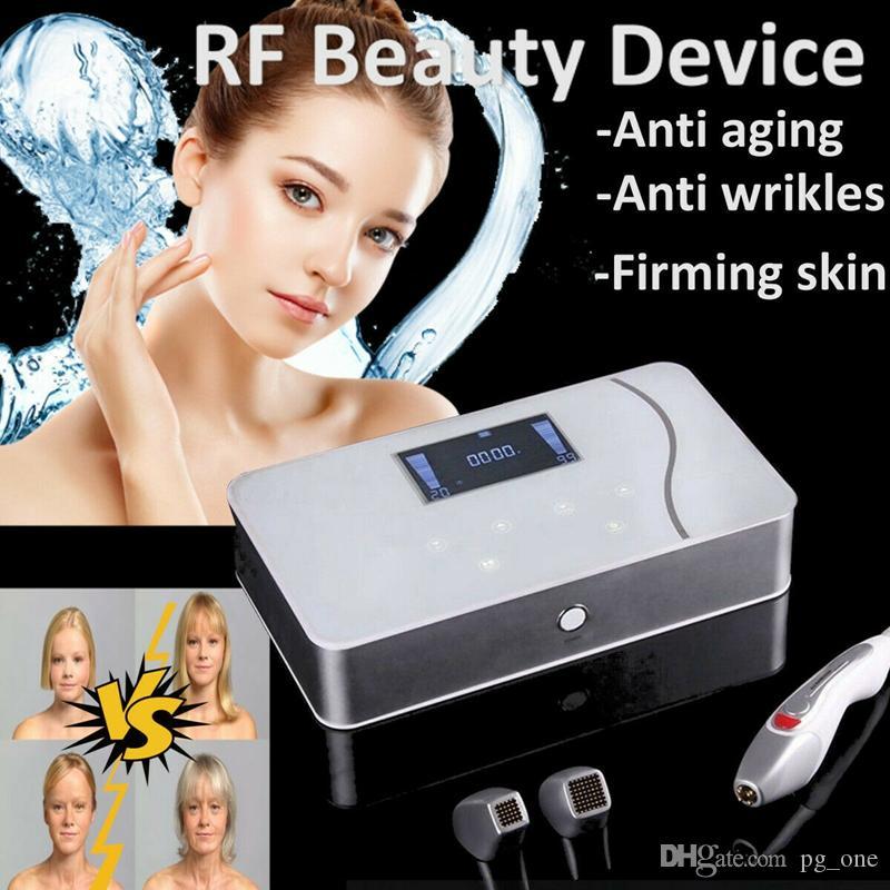 Équipement portable machine Fractional beauté RF Thermage fréquence radio pour la peau du visage Tenseur visage radiofrecuencia fraccionada