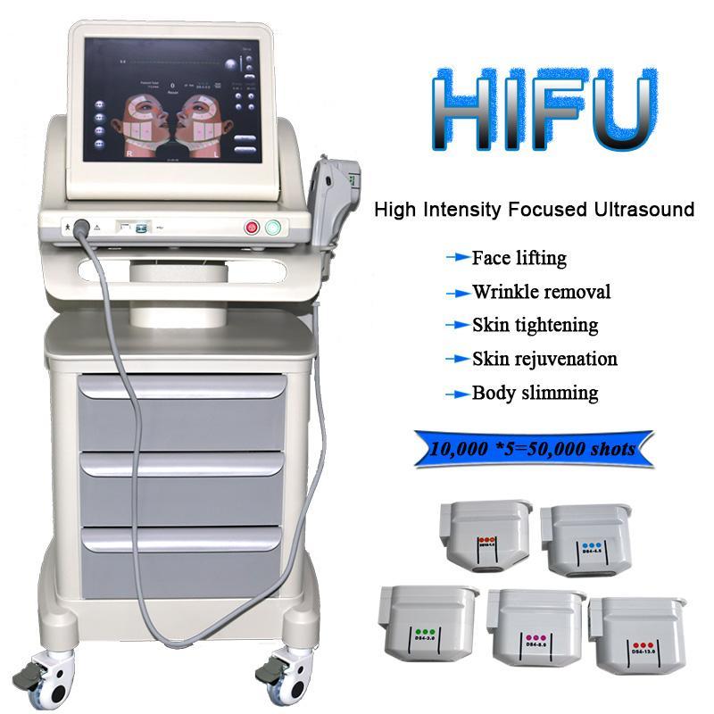 المحمولة HIFU عالية الكثافة تركز الموجات فوق الصوتية hifu الوجه آلة العناية بالبشرة إزالة التجاعيد مع hifu لرفع الوجه
