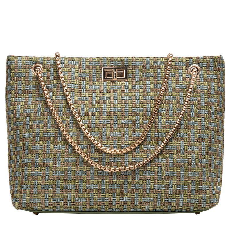 Designer Luxus-Handtaschen-Frauen-Beutel Designer Mode Knitting Kette Umhängetasche Berühmte Toten Umhängetaschen für Frauen White HandBags