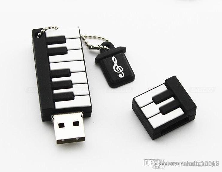 디자인 실제 용량 키보드 만화 USB 플래시 펜 드라이브 32 기가 바이트 ~ 64 기가 바이트 USB 플래시 드라이브
