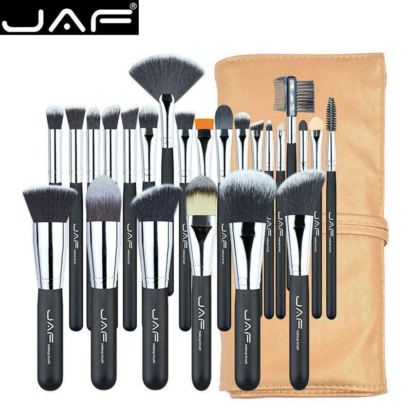 24pcs Professional Makeup Brushes Set High Quality Make Up Brushes Full Function Studio Synthetic Make-up Tool Kit J2404yc-b