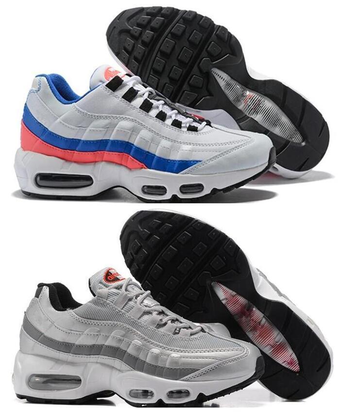 95s desconto Air Sports Running Shoes Hight qualidade dos homens negros Homens melhores Atlético pé Tênis Sneakers frete grátis