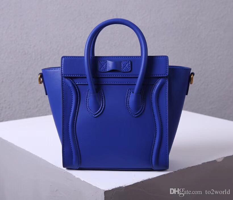 luxury purse big tote smile bag handbag shoulder bag real leather genuine leather travel bag