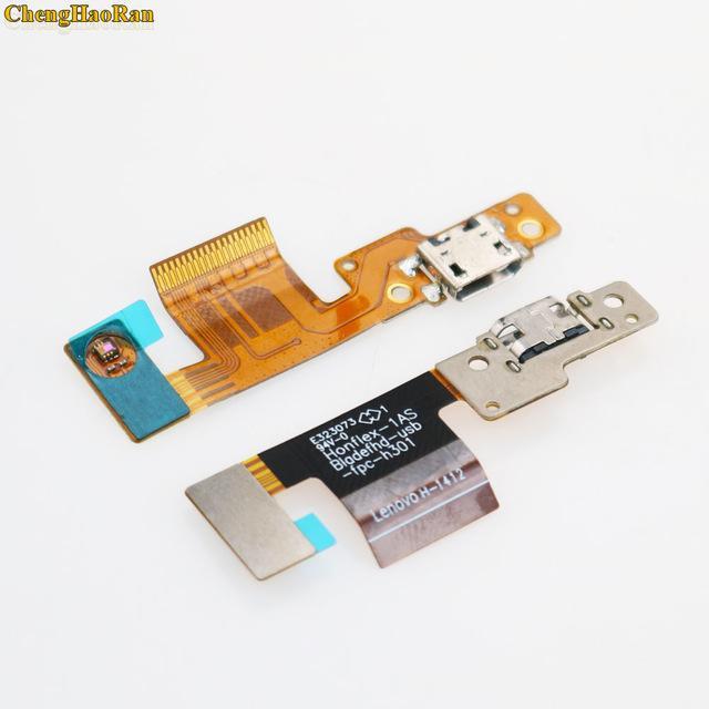 Téléphone mobile Flex Chargeur Micro US Câbles de charge Port pour Lenovo PAD B8080H B8080H B8080 prise jack Connecteur Flex ruban câble