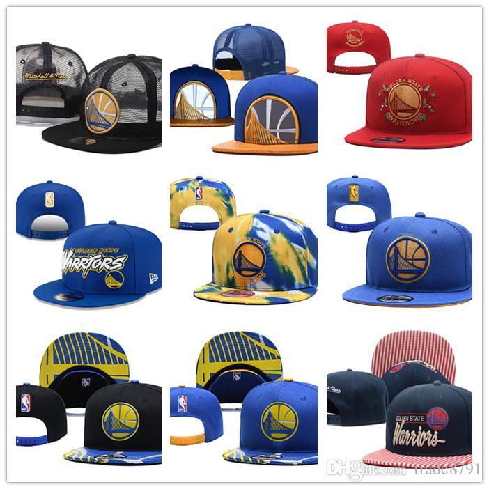 الجملة فريق كرة السلة ووريورز 2 القبعات snapback البيسبول SNAPBACKS أغطية الرأس لرجل إمرأة مسطح قابل للتعديل لأجل المزيج كاب قبعة رياضية