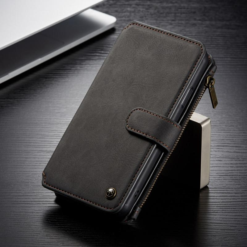 Top Luxury fashion PU leather Phone case for iphone 11 Pro 12 X XS Max XR Galaxy S20 S10 Note 20 10 with card slot protection shell cover