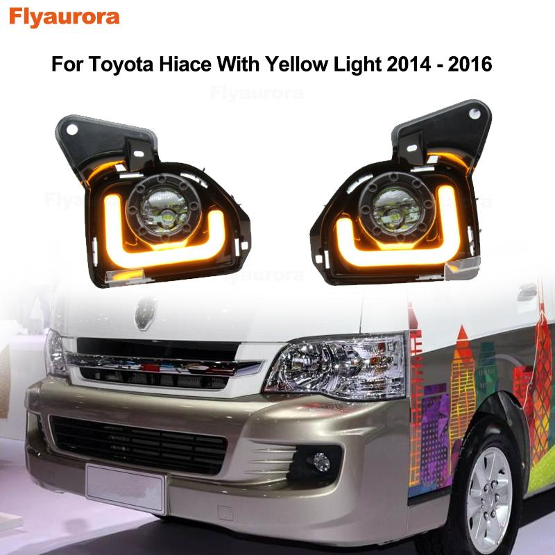 White to Yellow JZ Automobile DRL Turn Signal Light LED Strip 2 X 24 Inches