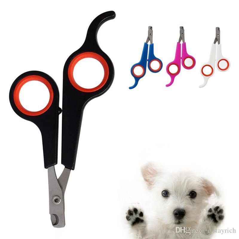 chiens tondeuse à ongles pour animaux en acier inoxydable chats ciseaux à ongles coupe de fournitures pour animaux toilettage pour animaux de compagnie santé Livraison gratuite