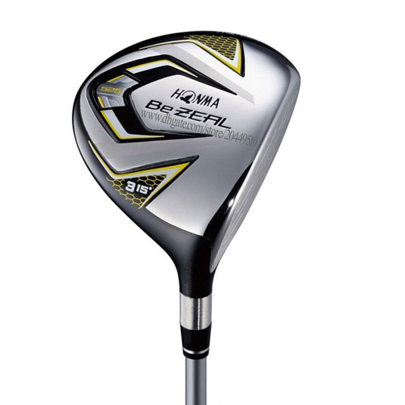 Yeni Erkekler Golf Kulüpleri HONMA BEZEAL 525 Golf Fairway Ahşap 3 veya 5Loft Golf ahşap Grafit mil ve ahşap kafa Kapak Ücretsiz kargo