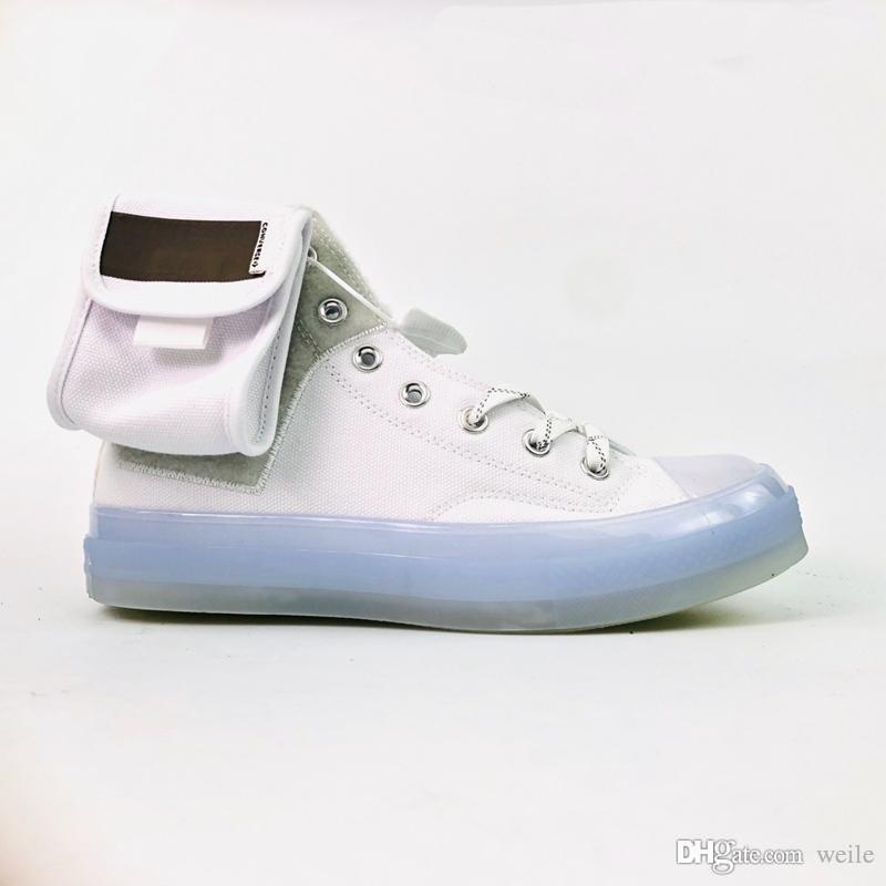 Все звезды лежали Чжан Чак 70 Привет Спорт Повседневная холст обувь для мужчин женщин 1970-х годов высокое качество белые кроссовки мода спортивная обувь 36-44